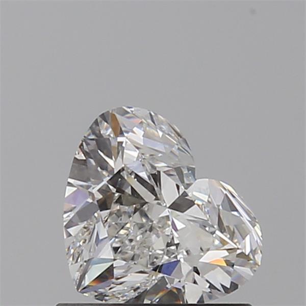 Heart Cut 0.700 Carat H Color Vvs2 Clarity Sku 740674486