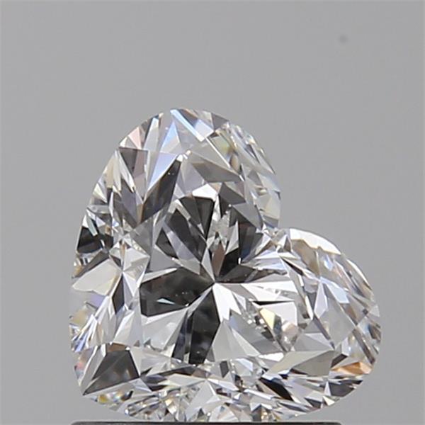 Heart Cut 1.010 Carat F Color Vs1 Clarity Sku 904892461